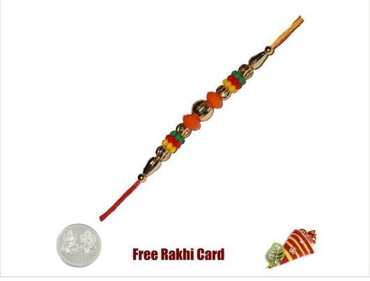 Mauli Colorful Beads Rakhi