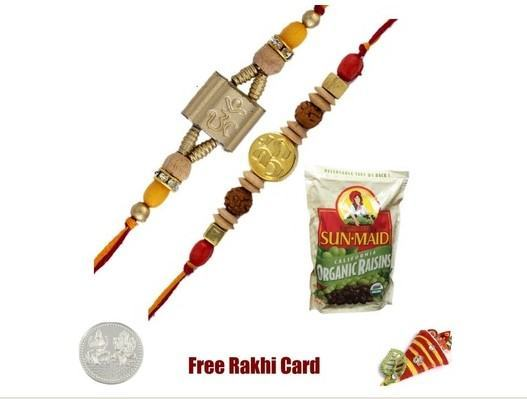 2 Rakhis with Sunmaid Orgainic Raisins