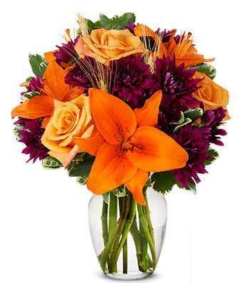 Autumn Harvest Blooms Bouquet