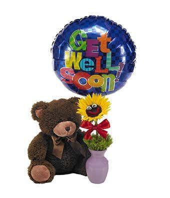 Cuddle Up & Get Well Bear