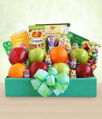 Spring Delights Easter Fruit & Sweets Box