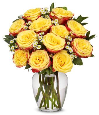 Festive Roses Bouquet
