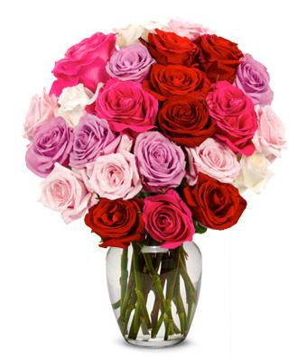24 Sweetheart Roses Bouquet