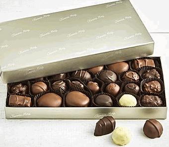 Milk & Dark Chocolate Box